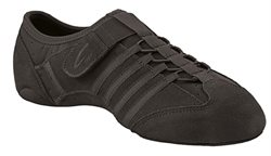 Capezio sort jazz sneakers m. split sål