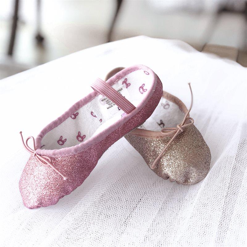 bbb53dfb5bb Bloch guld glimmer balletsko til piger