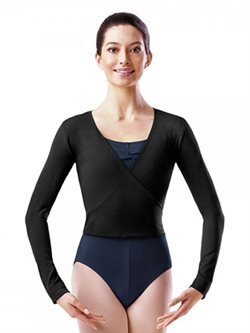 Bloch Cross-over top ballet bomulds stretch