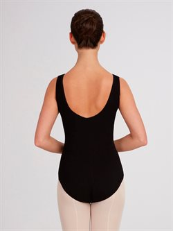 Balletdragt tank stropper sort Capezio