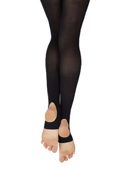 Capezio soft tights med andefod