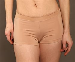 Pridance hudfarvet hotpants