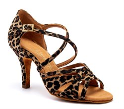 Flot salsa/latinsko leopard Mia International