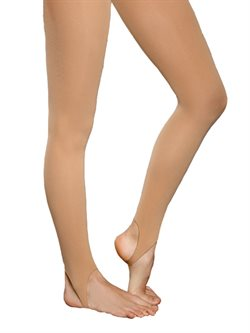 Pridance hudfarvet tights m. strop