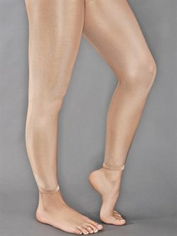Pridance ultra shimmery footless tights